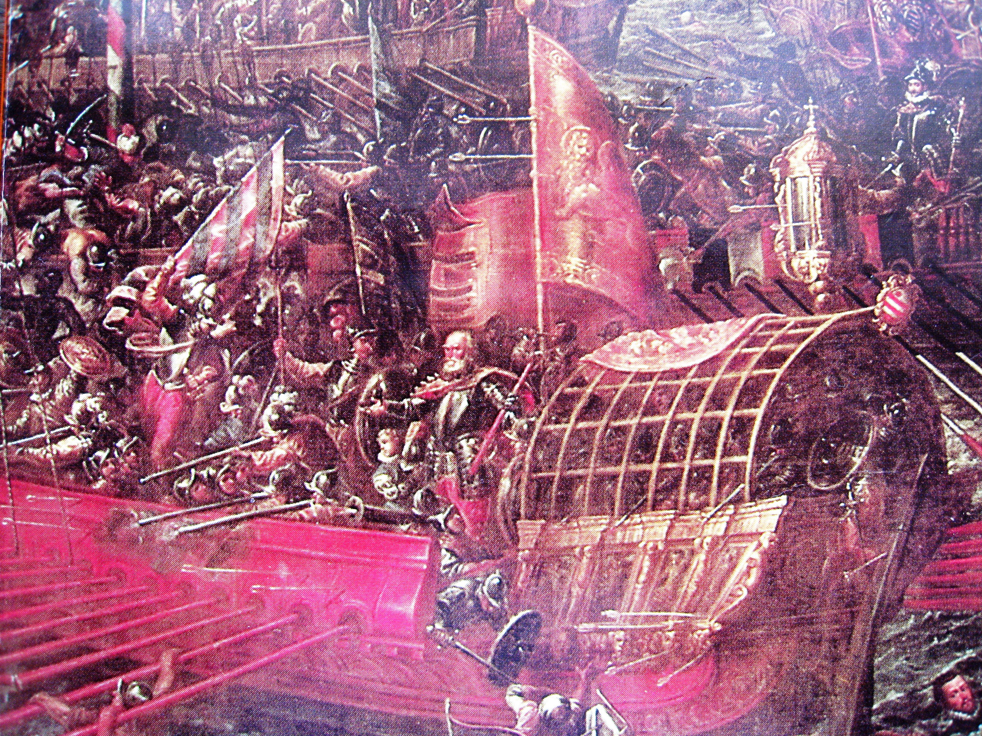 battle of lepanto essay Don john of austria is riding to the sea by victor davis hanson august 2007 the victory of the west: in the months before the battle near lepanto.